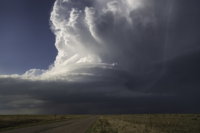 Supercell near Lovington NM 5.4.19