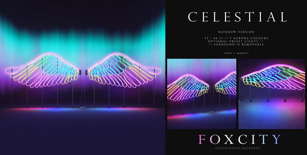 FOXCITY. Photo Booth – Celestial (Rainbow)