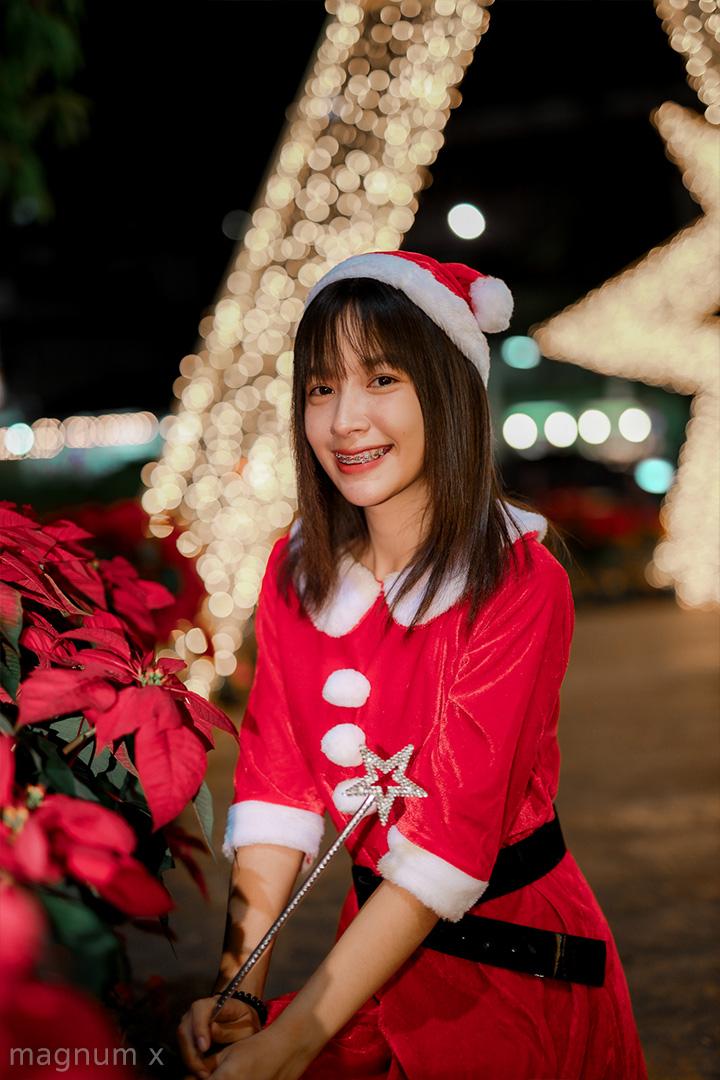 รูปถ่ายคริสต์มาสกลางคืน UD Town อุดรธานี