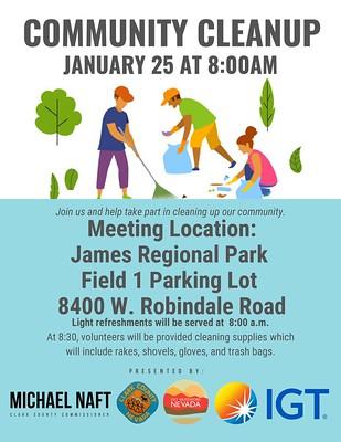 Community Cleanup Jan 25