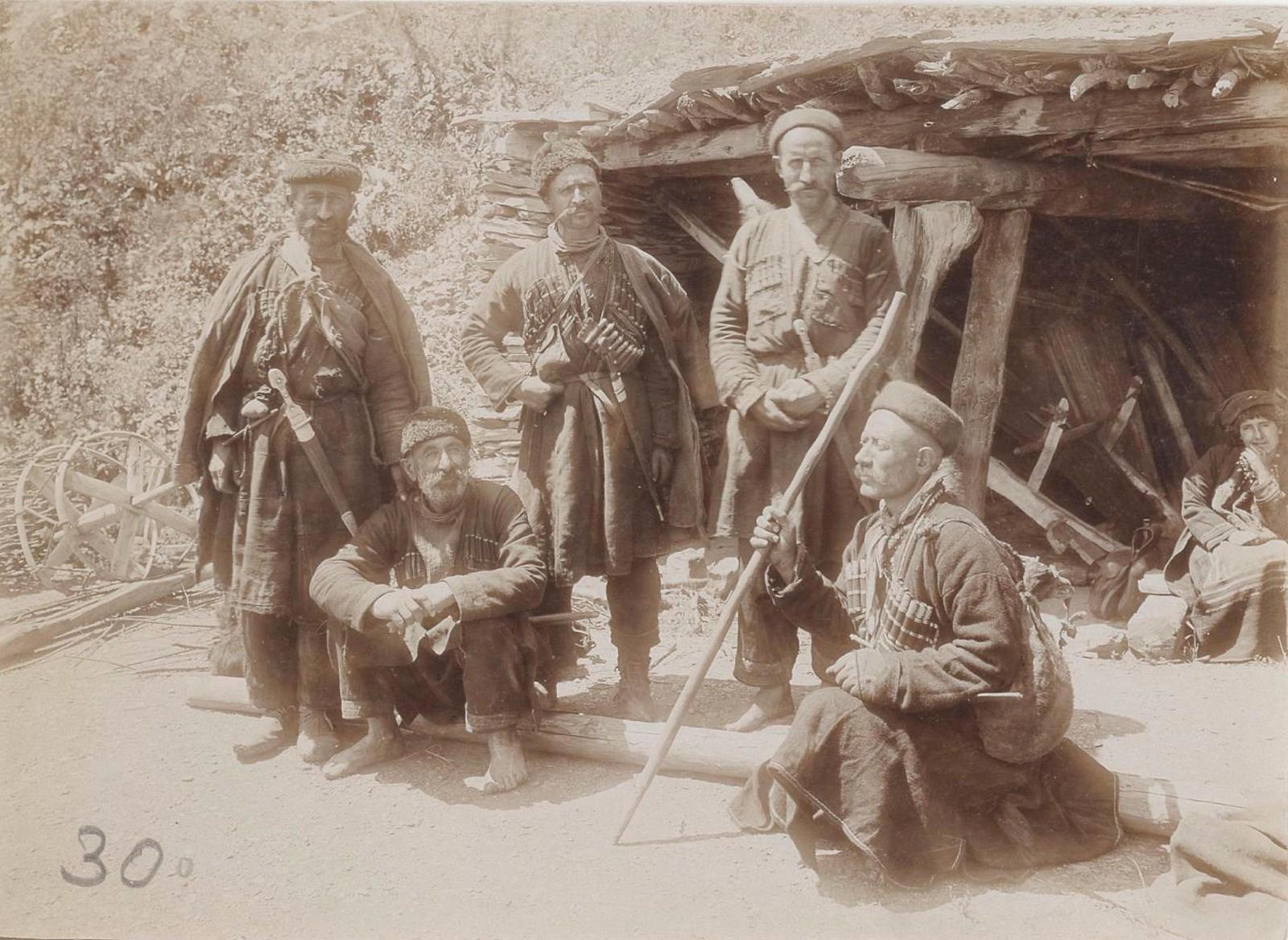 32. Восточный Кавказ. Хевсуры села Гаро