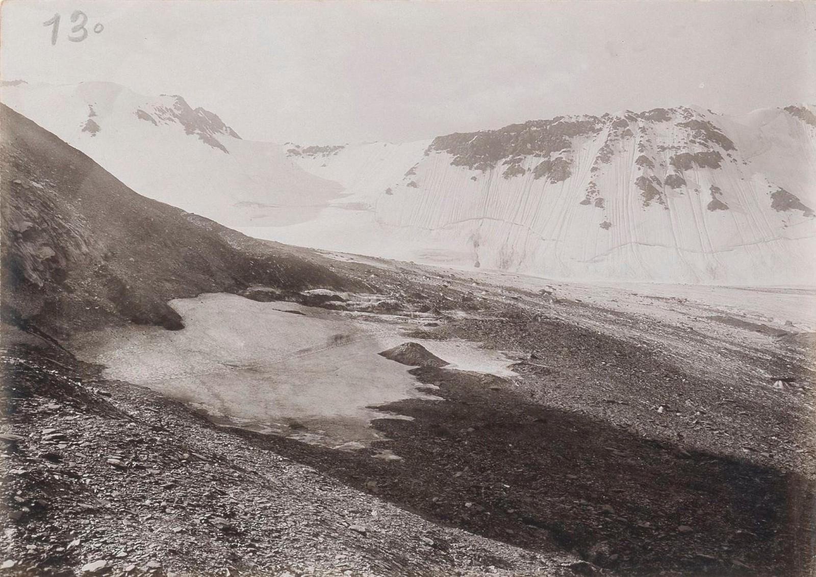 11. Восточный Кавказ. Ледник перевала Катчу