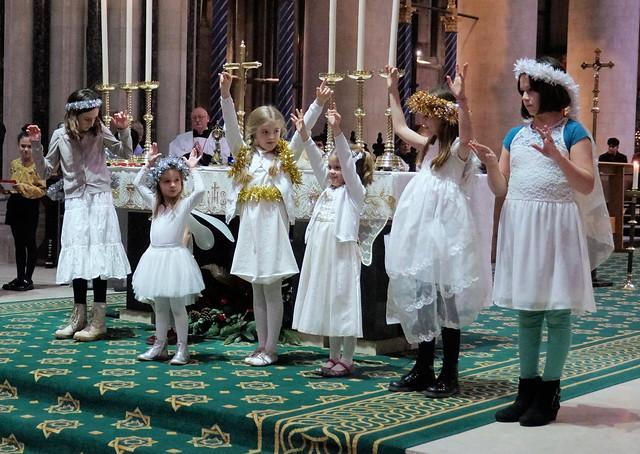 Vigil Mass of Christmas St John's Cathedral Norwich Dec19