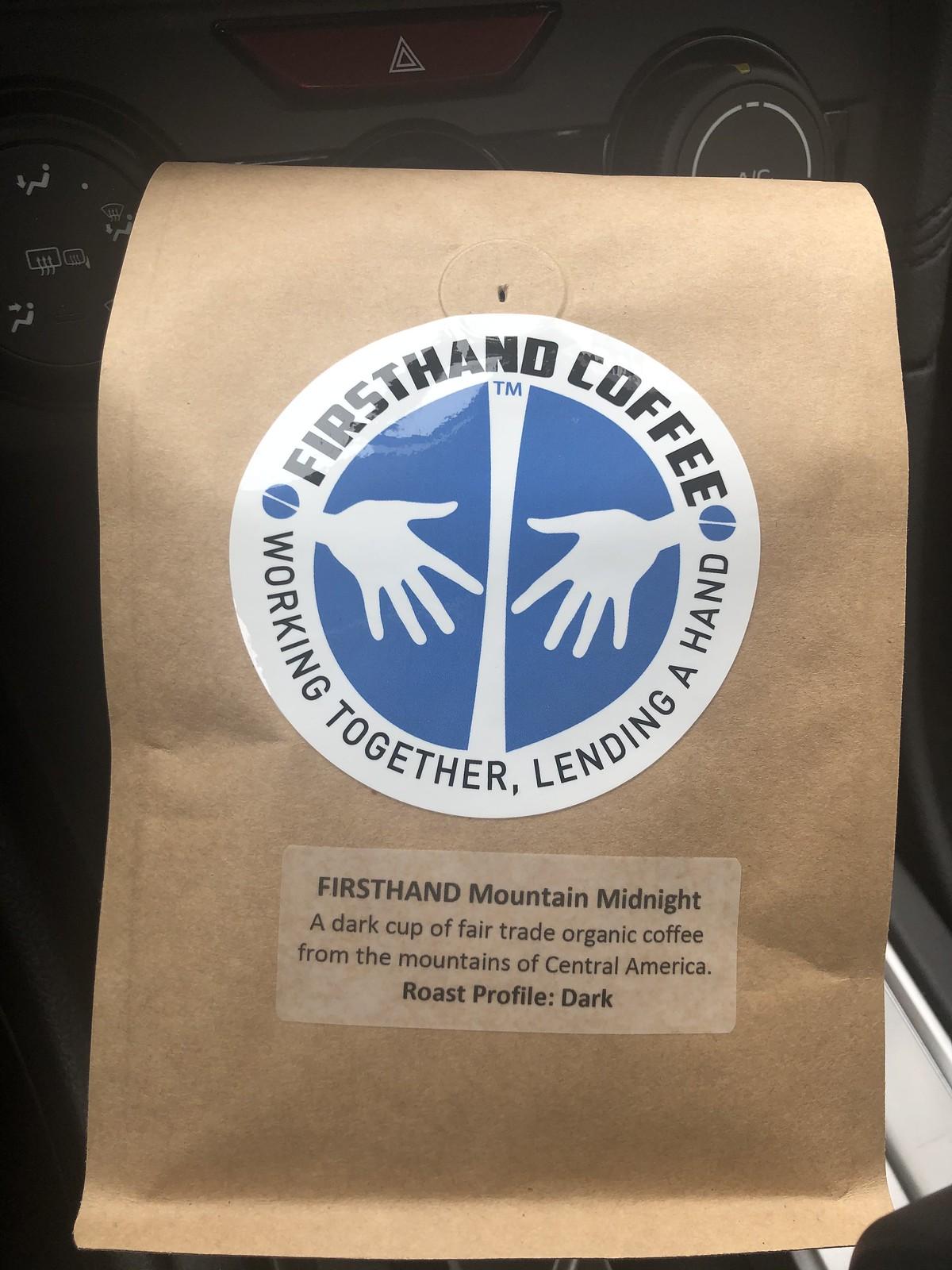 First hand coffee