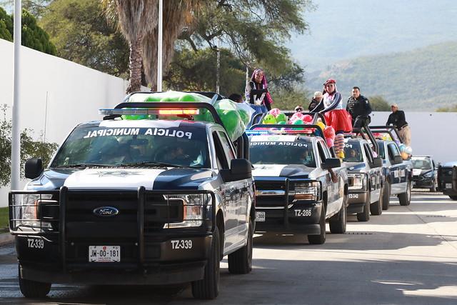 Entrega de Juguetes Comisaría de Tlajomulco