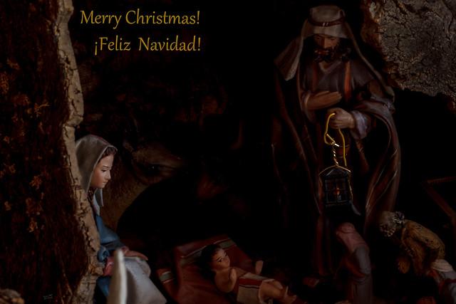 Merry Christmas!   ¡Feliz Navidad!