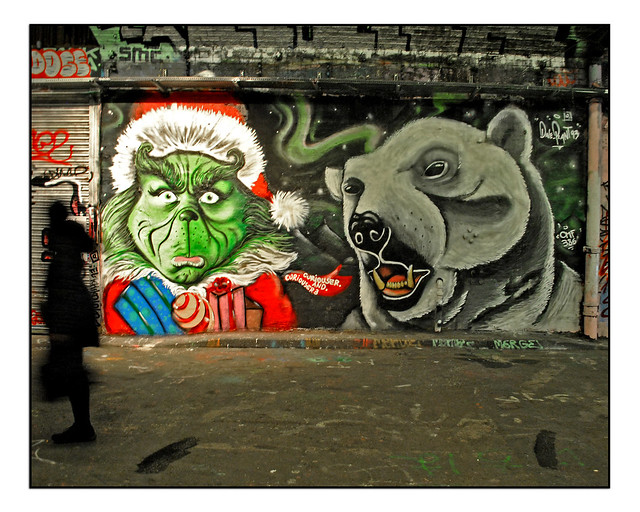 LONDON STREET ART by CURIOUSER & CURIOUSER & DAVE PLANT