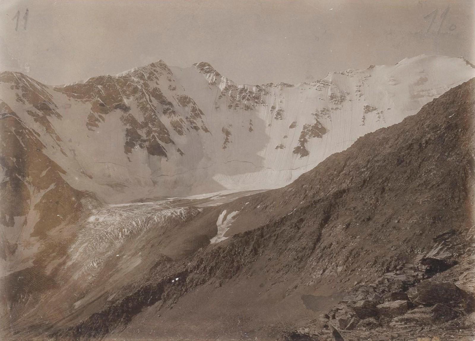 15. Восточный Кавказ. Ледники Датах-Корт. Июль
