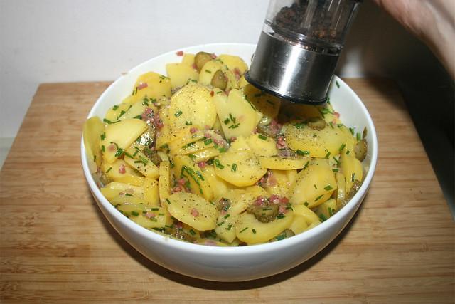 26 - Mit Salz & Pfeffer abschmecken / Taste with salt & pepper