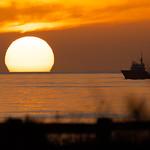 Sunset, Devereux Lagoon