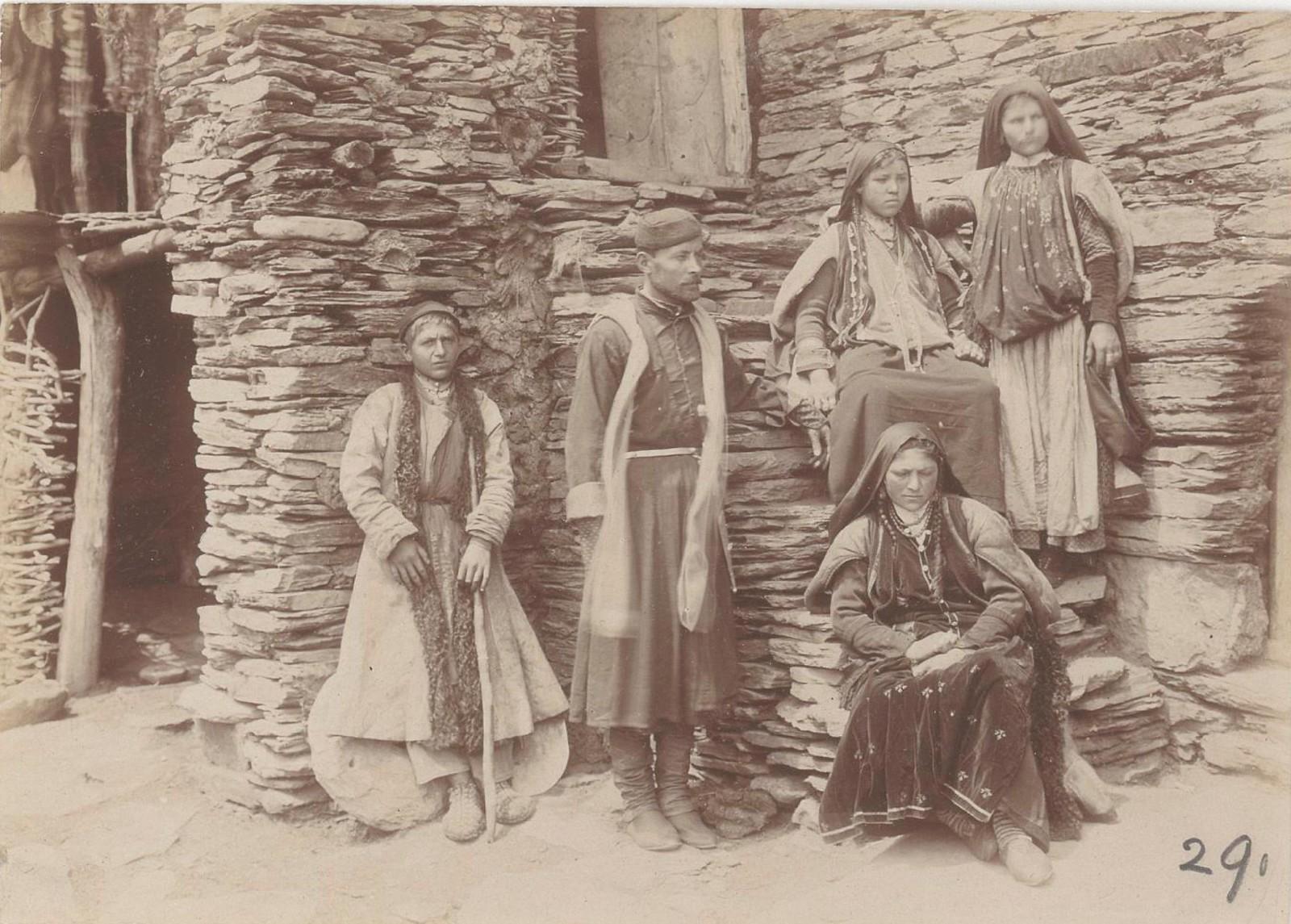 34. Восточный Кавказ. Жители Алазанской долины