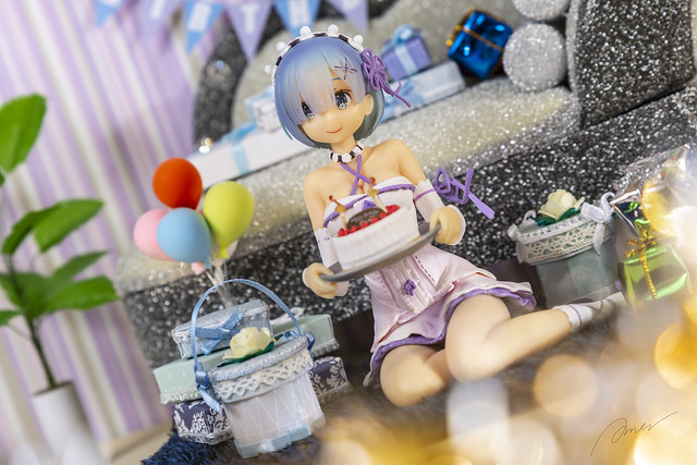 Re:ZERO Starting Life in Another World Rem Birthday Cake Ver. 1/7 Figure