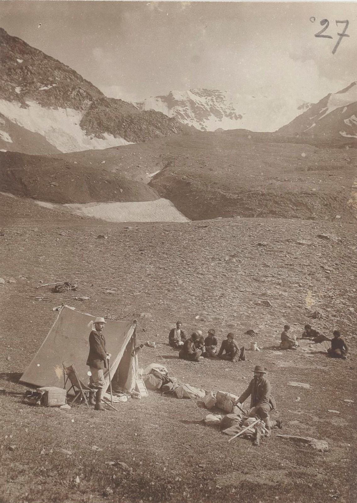 07. Восточный Кавказ. Лагерь у перевала Катчу