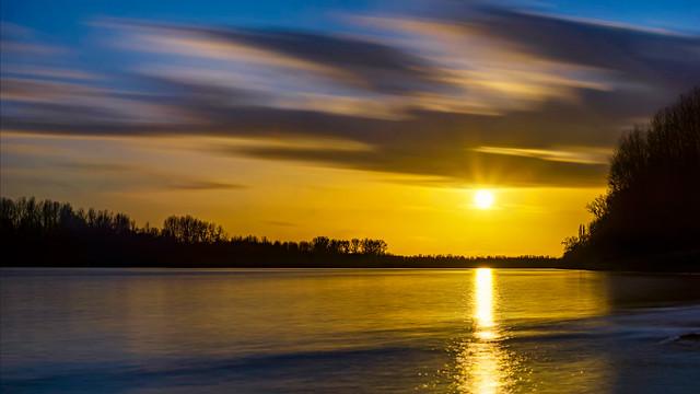 Xmas sunset...