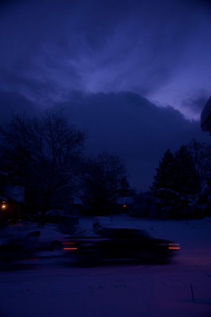 Blue Hour Rush