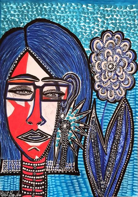 ציורי נשים אישה אמנות ישראלית יוצרת עכשווית מירית בן נון