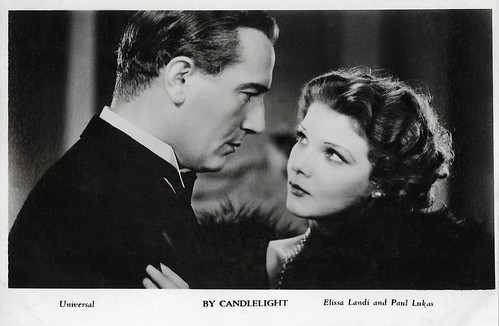 Paul Lukas and Elissa Landi in By Candlelight (1933)