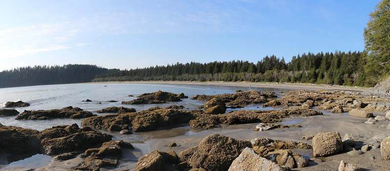 The tide was below 8 feet, so we could return to camp at Pachena Bay via the Beach Route