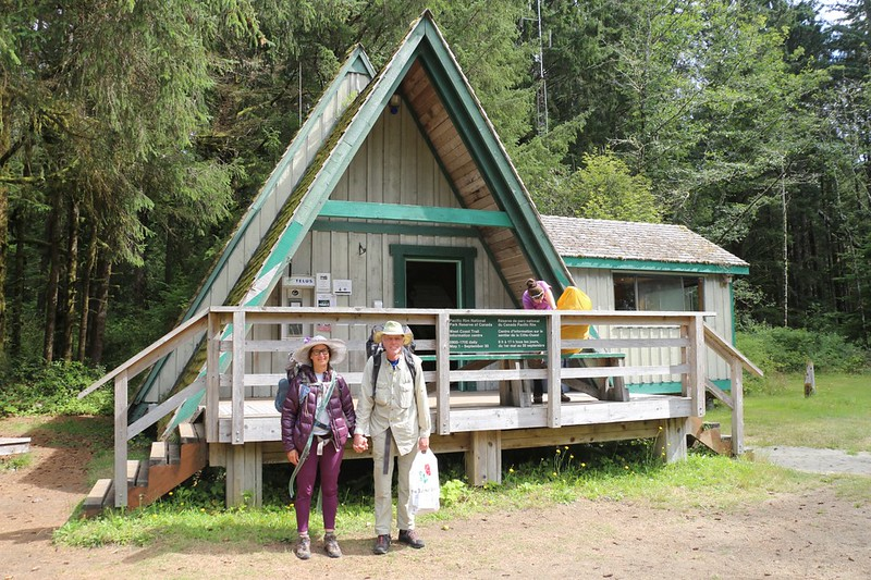 We started our West Coast Trail (WCT) hike at the Northern end, at the Pachena Bay Ranger Station