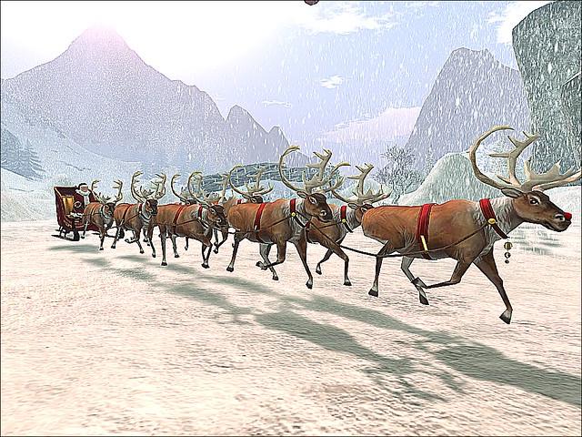 Enchanted Winter Solstice -Santa Brigade In the LZ