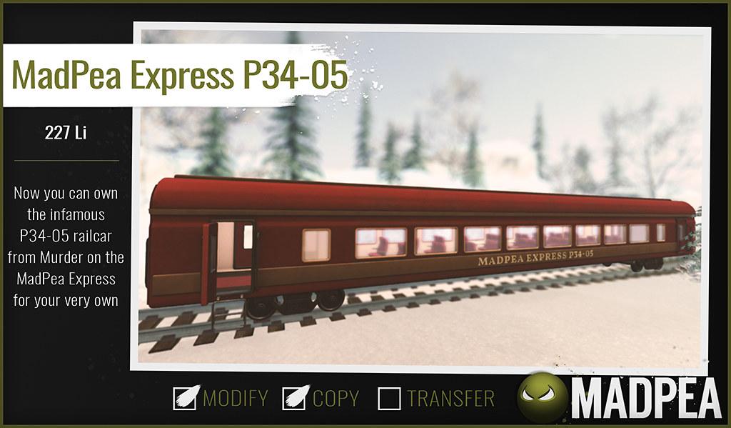MadPea Christmas Adventure Calendar –  MadPea Express P34-05!