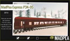MadPea Christmas Adventure Calendar -  MadPea Express P34-05!