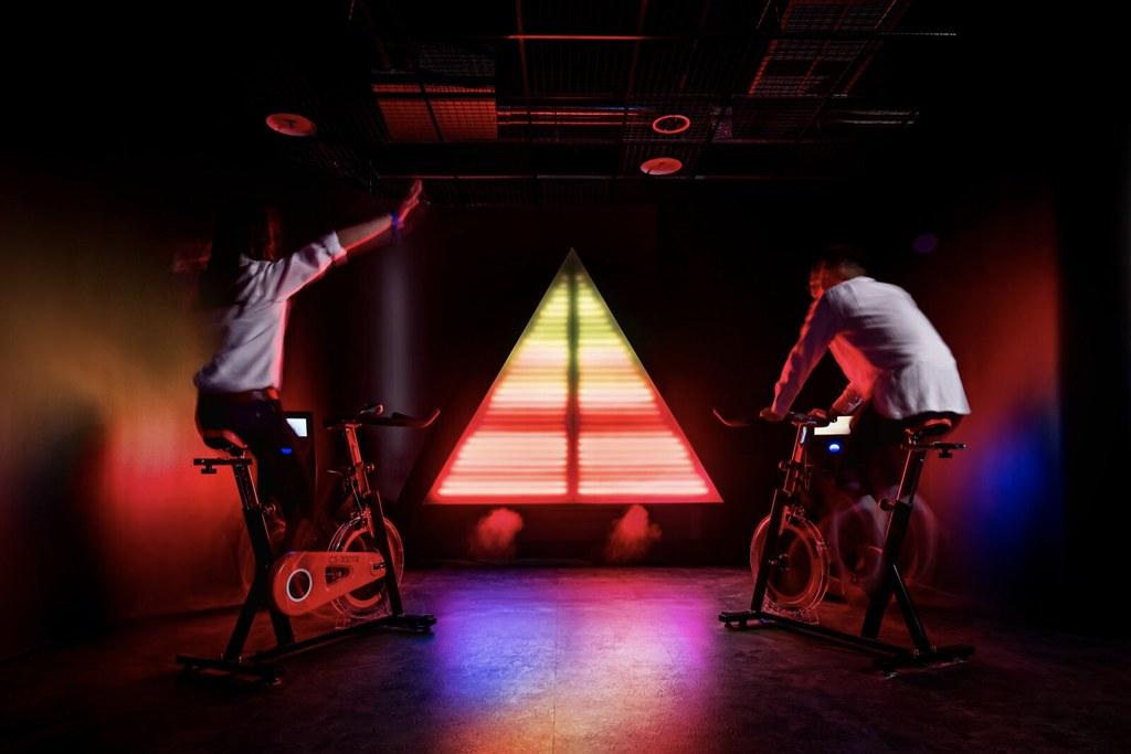 台電新板特區打造全台首座「能源健身房」電幻1號所