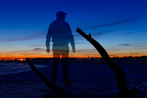 bluehour sp longexposure foxriver depere wisconsin blue mrblue sunset