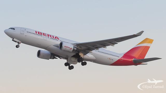 TLV - Iberia Airbus A330-200 EC-MIL