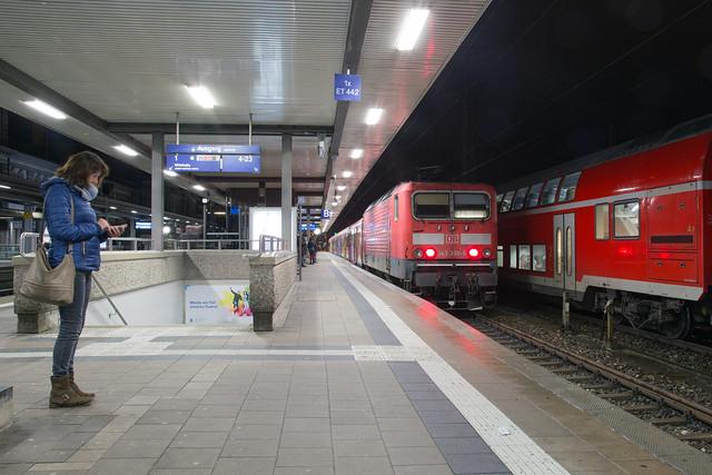 DB Regio 143 336 Nürnberg Hbf