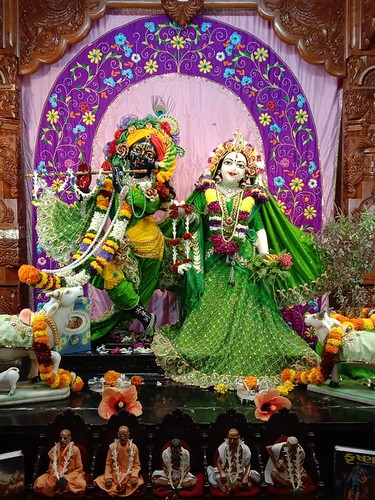 ISKCON Nigdi Deity Darshan 25 Dec 2019