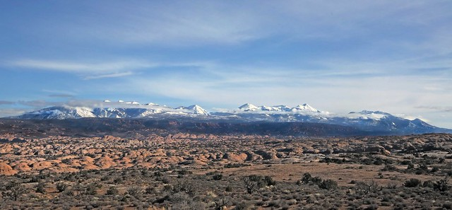 La Sal Range and the