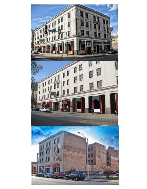 Rockford Illinois  ~ Lafayette Hotel ~ HIstoric Building