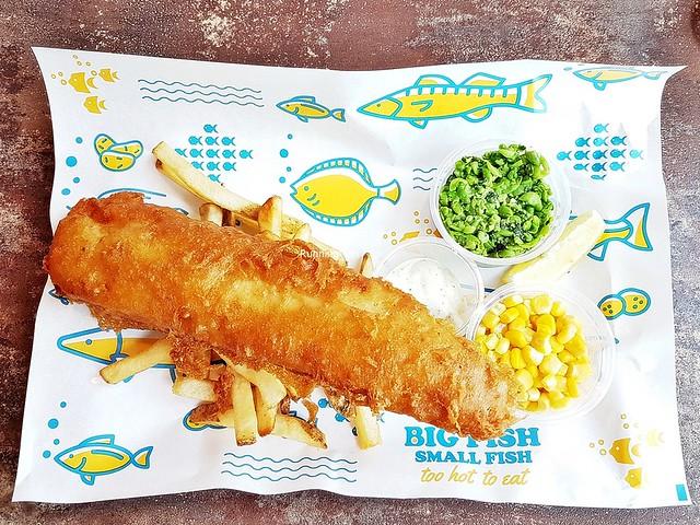Fish And Chips Set Hoki