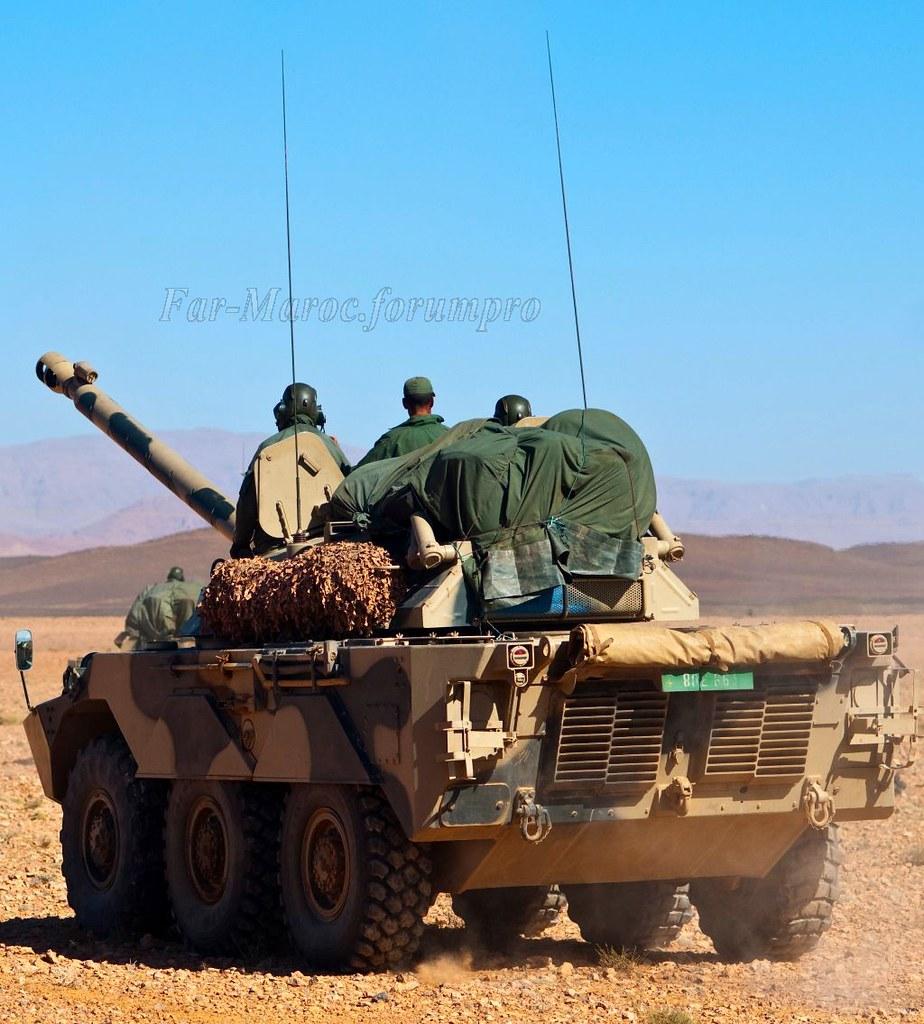 AMX-10RC des FAR // Moroccan AMX-10RC 49272693933_a767f83de4_b
