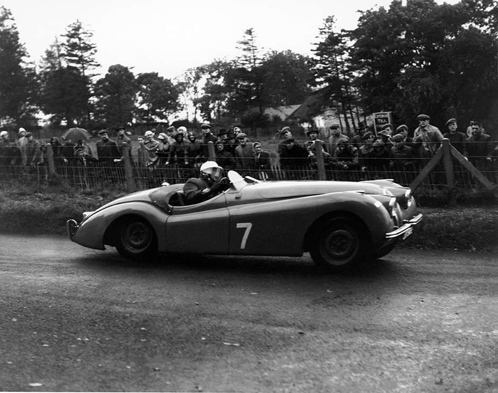 3. Jaguar XK120  1st RAC Tourist Trophy at Dundrod World Copyright LAT Photographic
