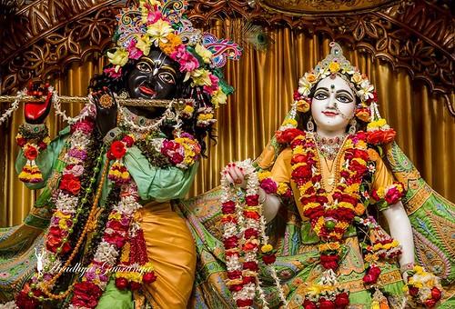 ISKCON Mayapur Deity Darshan 25 Dec 2019