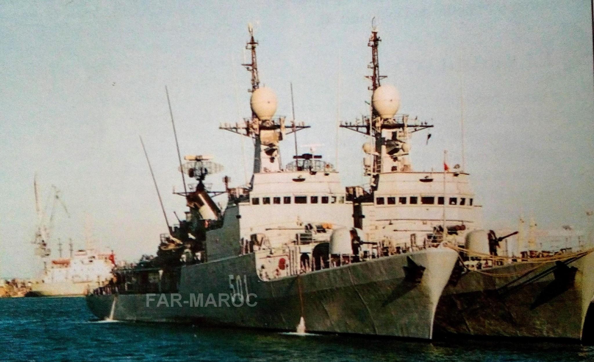 Royal Moroccan Navy Descubierta Frigate / Patrouilleur Océanique Lt Cl Errahmani - Bâtiment École - Page 4 49273250141_c7b0685575_o