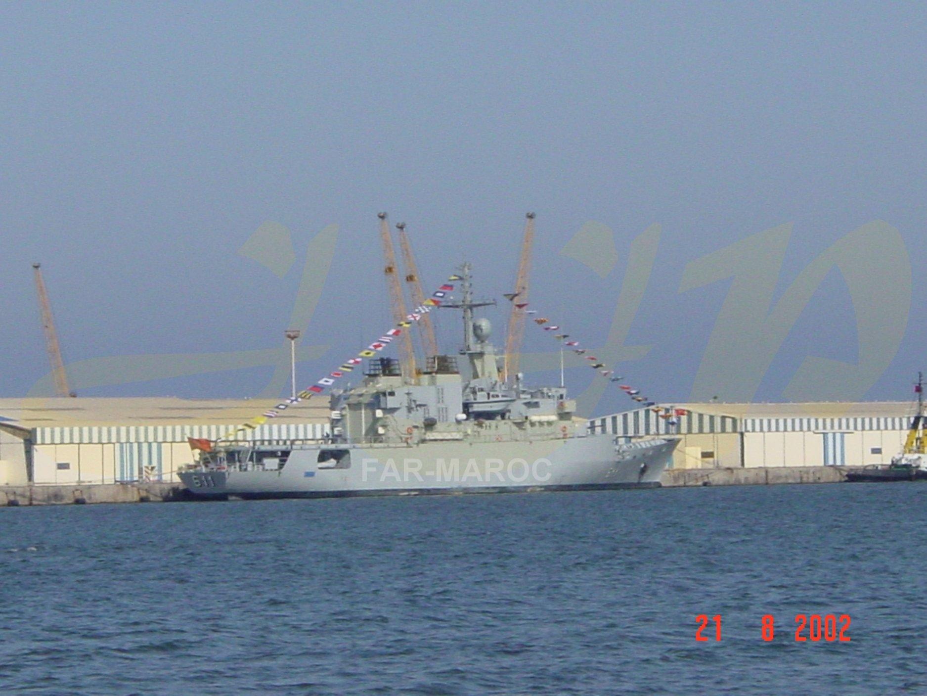 Royal Moroccan Navy Floréal Frigates / Frégates Floréal Marocaines - Page 14 49273250916_01f0a43f14_o