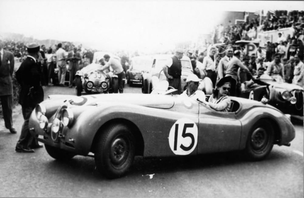 4. 1950 Jaguar XK 120 S Nick Haines & Peter Clark lemans.org