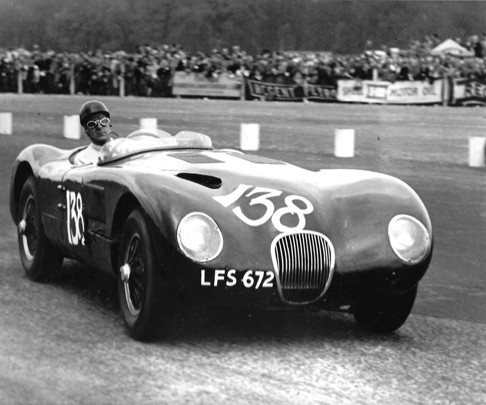 7. 1953-Jaguar-C-Type-Works-Lightweight-_ Courtesy of Peter Blond.