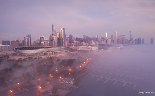spasojevic explore pier drone fc6310 pov djiphotography fromabove exploration windycity nenadspasojevic wrigleyfield nenadspasojevicart cityscapes dronephotography aerial sunrise sun urbanscene exploring foggy phanthom nenad navipier droning city perspective dji phanthom4pro chi 2019 flying sunlight mood light chicago illinois il