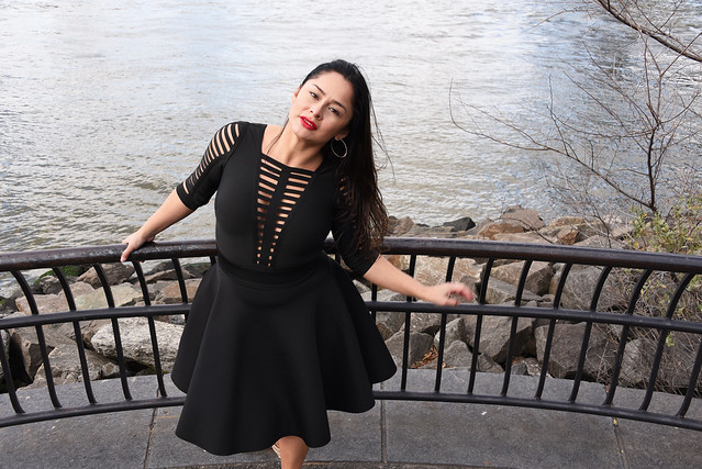 Picture Of Carolina Taken During A Fall Photoshoot At Brooklyn Bridge Park In Brooklyn New York. Photo Taken Sunday December 15, 2019