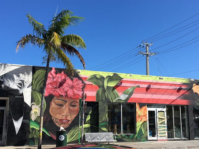 Graffiti in Wynwood, Miami