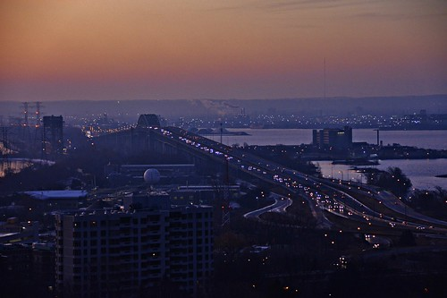 sunrise burlington ontario canada skybridge