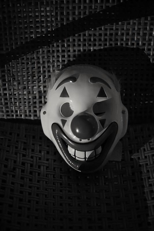 Joker Mask. Sony A7 Vintage Zeiss lens.