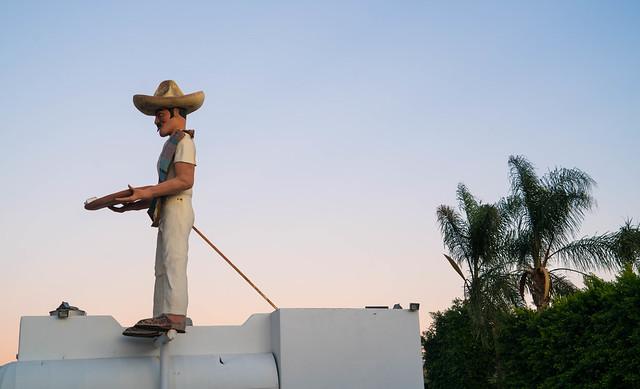 Mexican Statue in Malibu, California