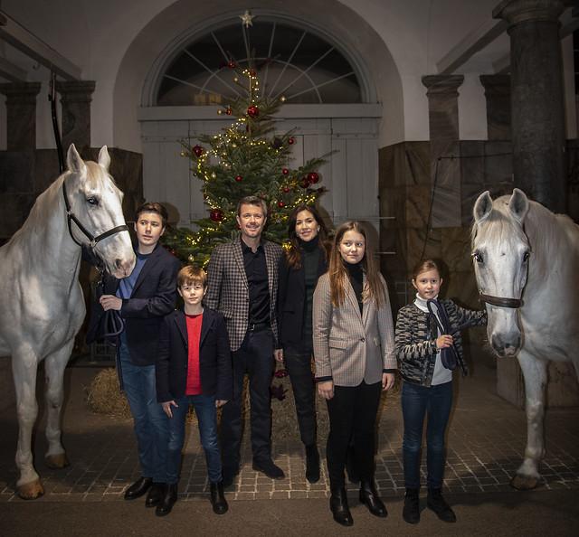 Kerstgroet Deens Kroonprinselijk Gezin (2019)