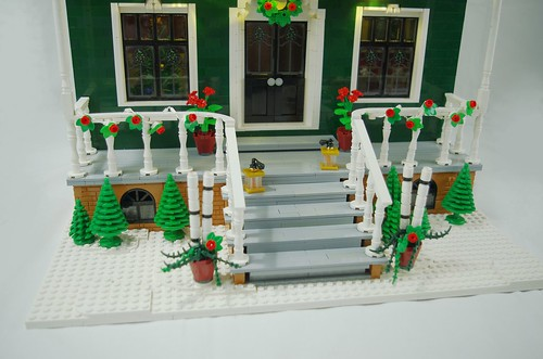 "2019 - lego ""merry christmas to you"" house"