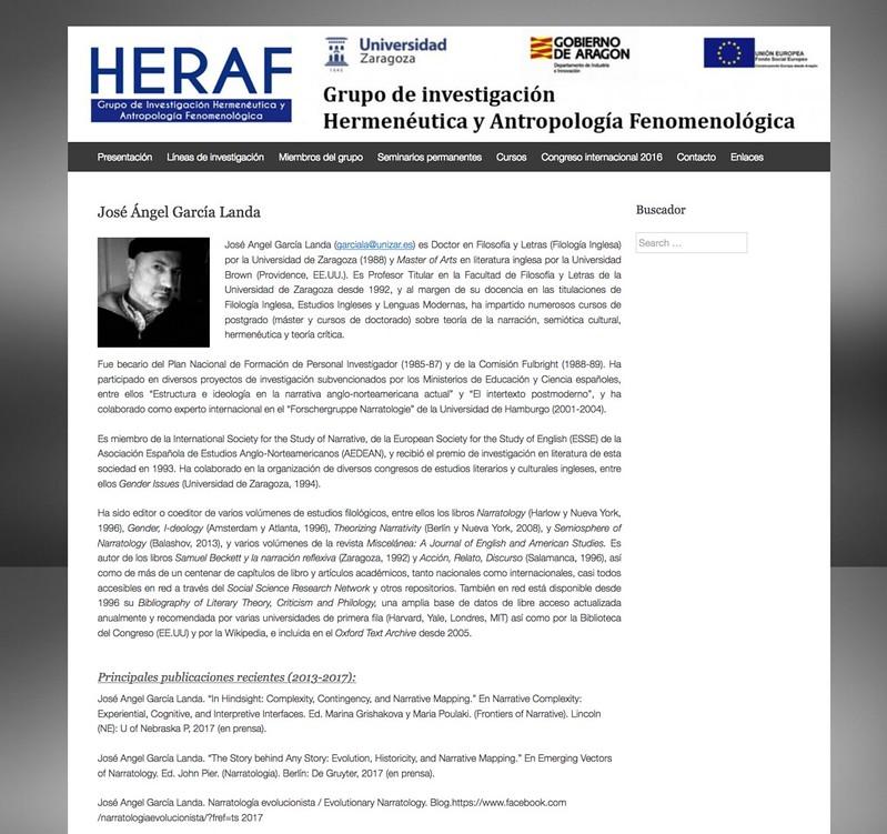 Adiós a HERAF